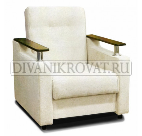 Кресло Аркадий хром антикоготь